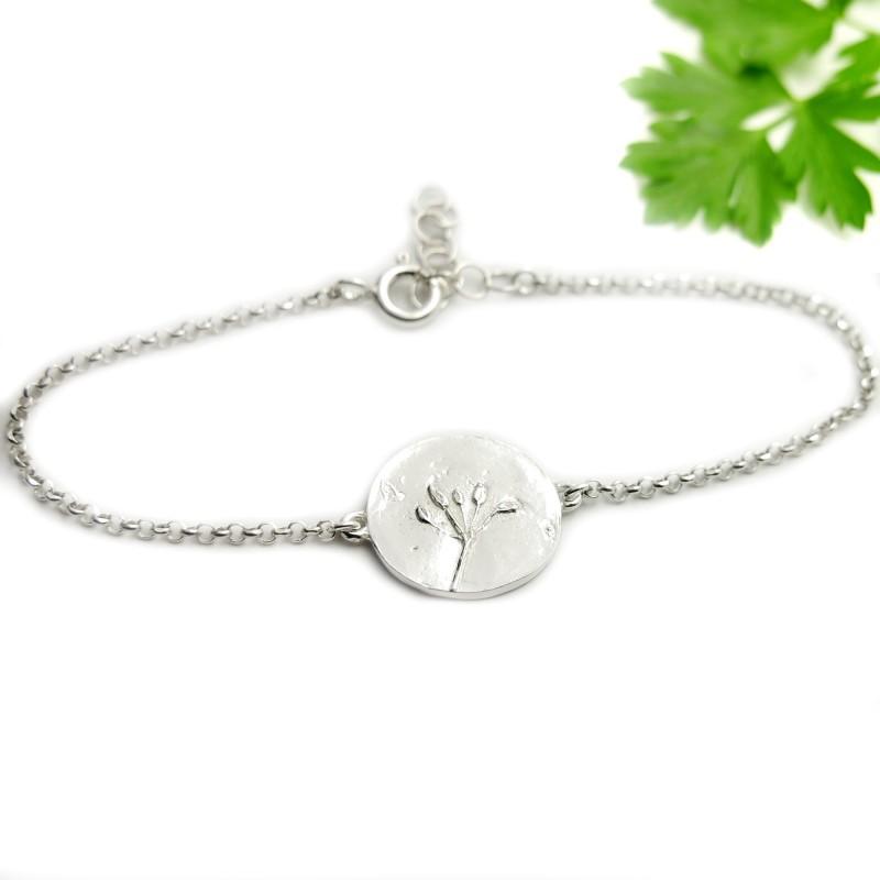 Awa bubble small adjustable necklace. Sterling silver. AWA