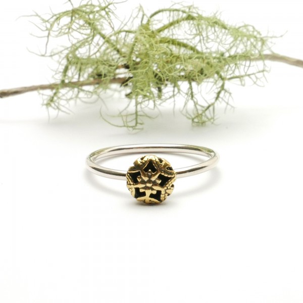 Little sterling silver and bronze ring  Home 27,00 €