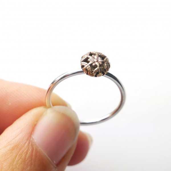 Hübsche kleine Sterling Silber Kette der Nuggets Sammlung 3b202f570b