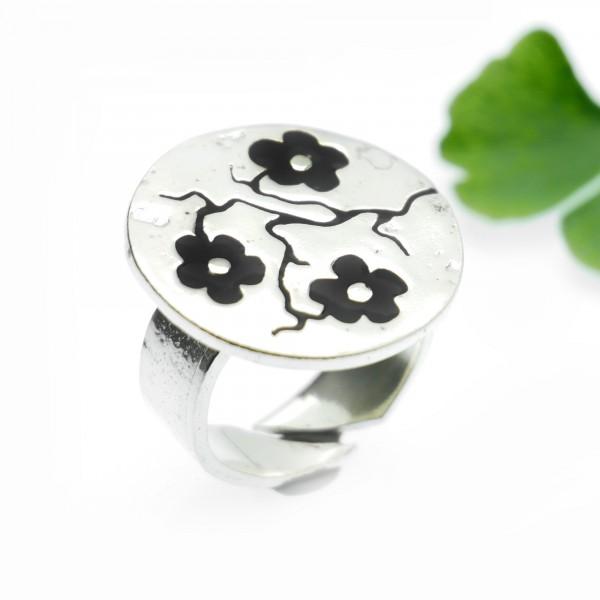 Minimalistische kleine Sterling Silber Ohrringe mit Herz MIN