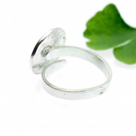 Violette Kirschblume Sterling Silber verstellbarer Ring Kirschblumen 79,00€