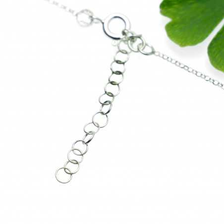 Adjustable necklace flower of Japan silver 925 made in France Desiree Schmidt Paris Cherry Blossom 57,00€