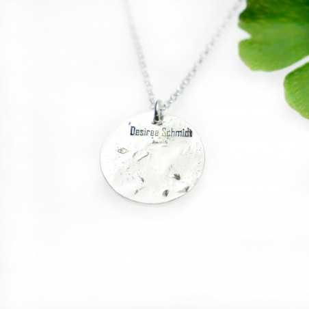 Pendant on 925/1000 silver flower chain made in France Desiree Schmidt Paris Cherry Blossom 57,00€