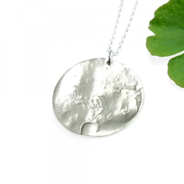 925/1000 silver sakura pendant necklace made in France Desiree Schmidt Paris Cherry Blossom 77,00€