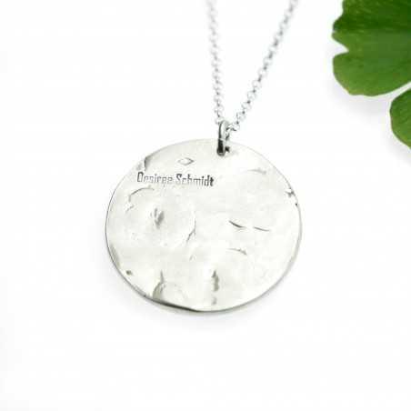 red sakura pendant on 925 silver chain made in FranceDesiree Schmidt Paris Cherry Blossom 77,00€