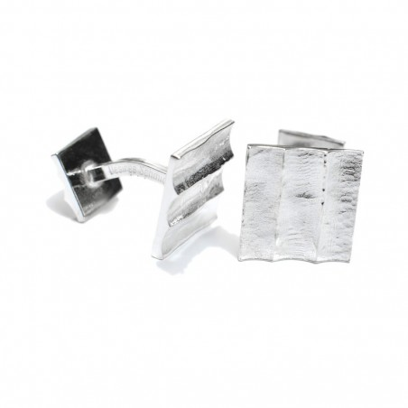 Bamboo Cuff links. Sterling silver.  Pour homme 77,00 €