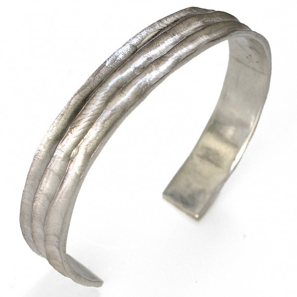 Bamboo bracelet. Sterling silver. Pour homme 187,00€