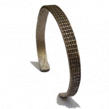 Building bracelet. Sterling silver. Black and matt finish.  Pour homme 147,00€