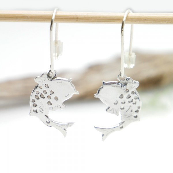 Sterling silver Koï carp pendent beautiful earrings Koi 77,00 €