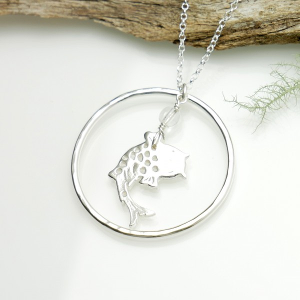 Koï fish necklace. Sterling silver. Koi 77,00 €