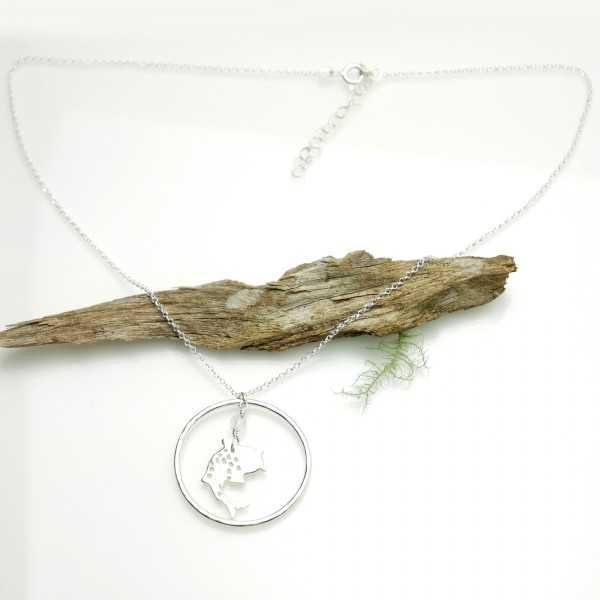 Koï fish necklace. Sterling silver. Koi 77,00€