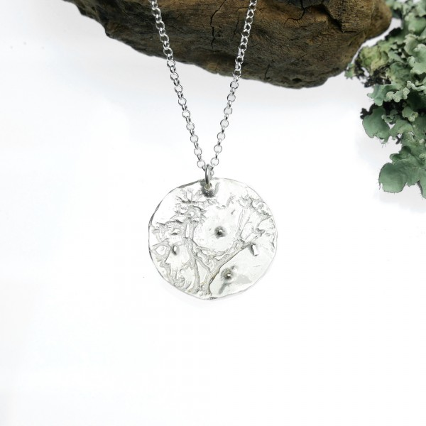 Morning Dew small necklace. Sterling silver. Morning Dew 67,00€