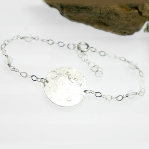 Morning Dew adjustable bracelet. Sterling silver. Morning Dew 67,00€