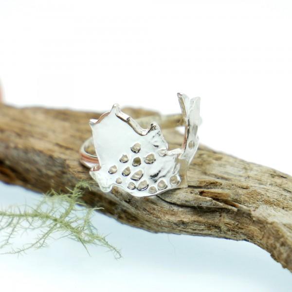 Sterling Silber Koï Karpfen Ring Koi 67,00€