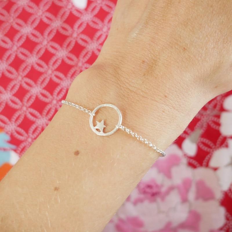 Nova star small bracelet. Sterling silver Nova 37,00€