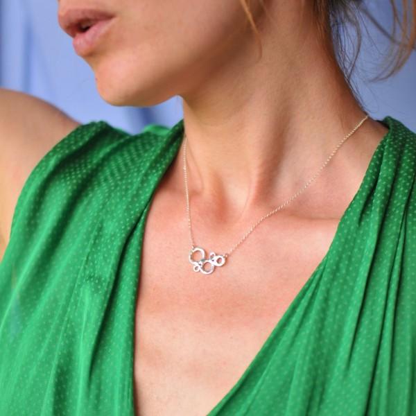 Kleine Awa Halskette aus 925 Silber Desiree Schmidt Paris AWA 57,00€