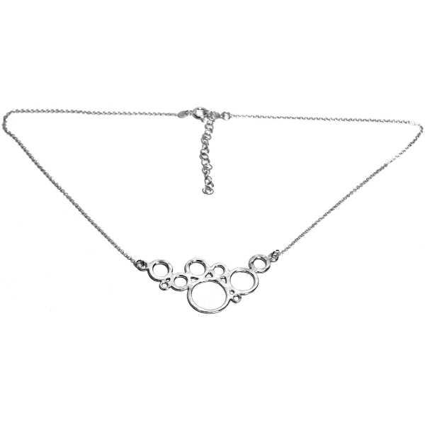 Awa bubble adjustable Sterling silver necklace Desiree Schmidt Paris AWA 77,00€
