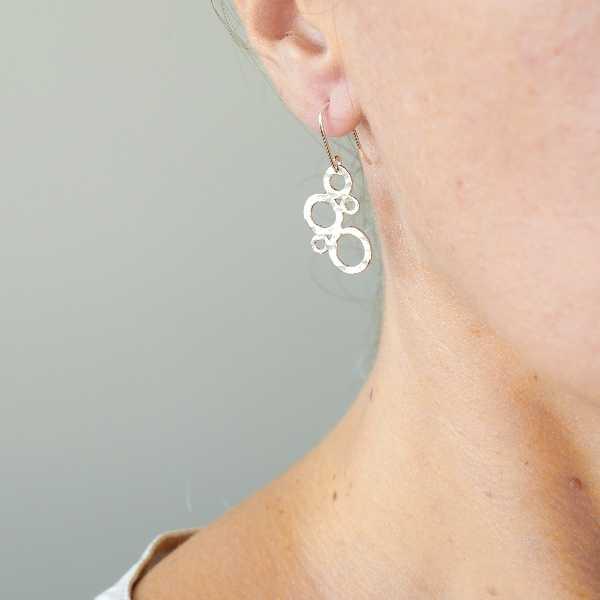 Awa bubble pendant earrings. Sterling silver. AWA 67,00€
