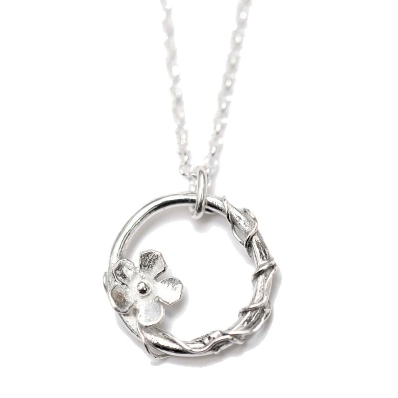 Kleine Sakura Kette aus 925 Silber  Sakura 57,00€
