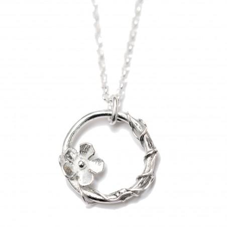 Sakura adjustable necklace Sterling silver. Desiree Schmidt Paris Sakura 57,00€