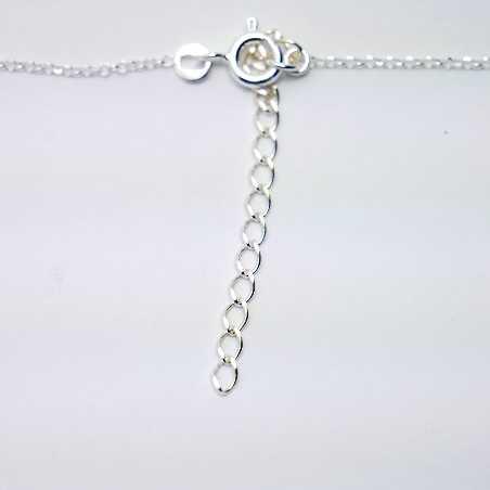 Sakura adjustable necklace. Sterling silver. Desiree Schmidt Paris Sakura 57,00€