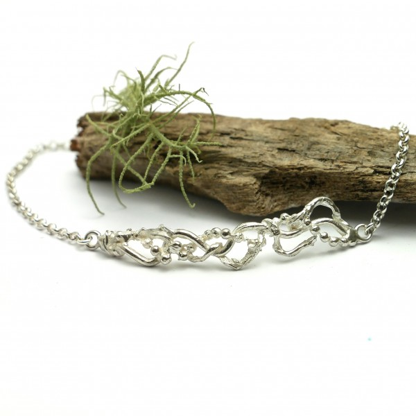 Volubilis ajustable bracelet. Sterling silver. Volubilis 65,00 €