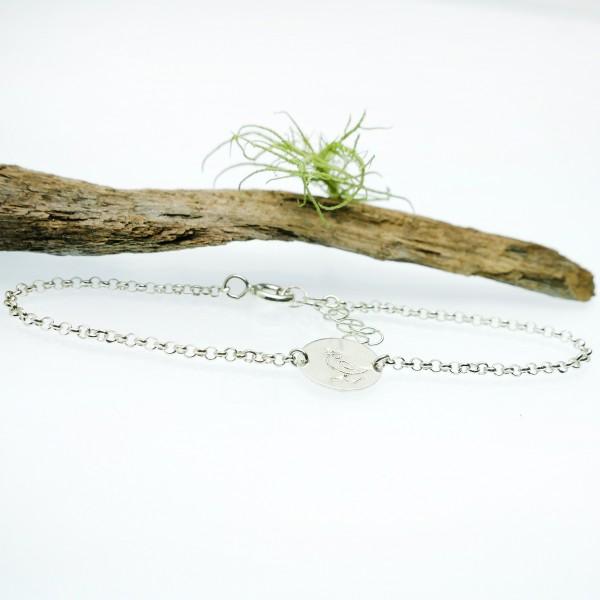 Minimalistische lange Sterling Silber Ohrringe mit Pailletten besetztes Graues Harz NIJI