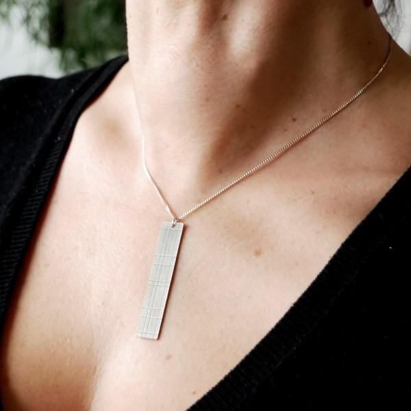 Anhänger aus SterlingSilber 925/1000 lange Halskette Kilt Kilt 87,00€