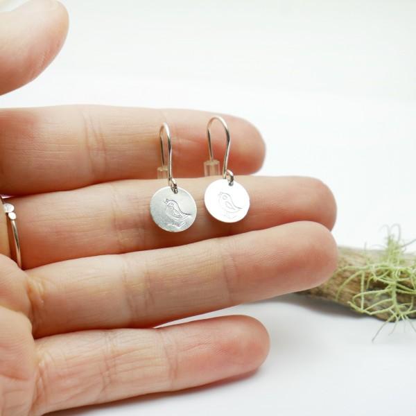 Petite bague Lemna en argent 925 et or 24 carats pièce unique taille 55 Accueil