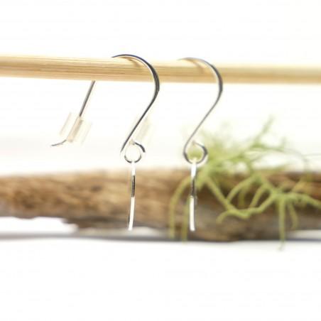 Boucles d'oreilles pendantes en argent 925/1000 minimalistes motif tête de mort Boucles d'oreilles 27,00€
