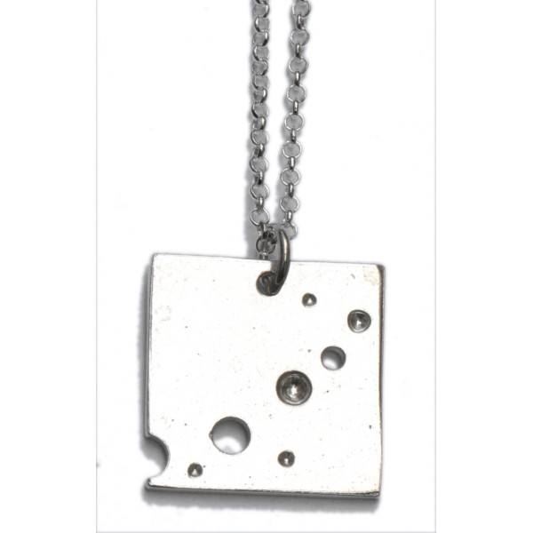 Sterling Silber Rotes Herz Kette