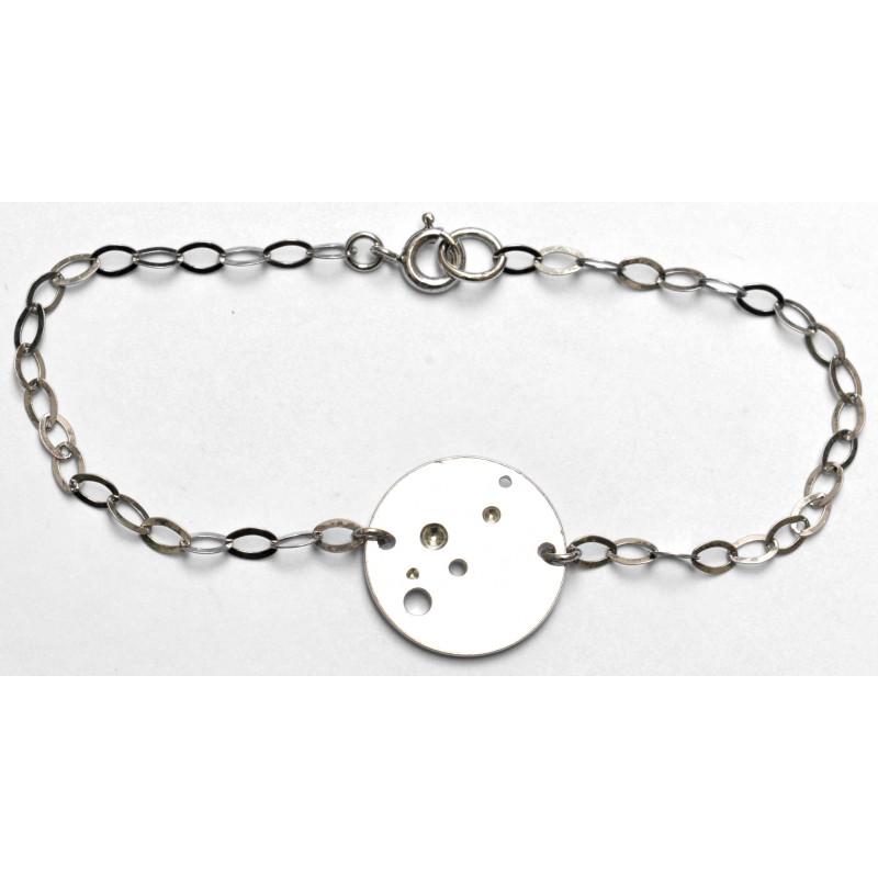 Bubbles round bracelet in 925/1000 silver Desiree Schmidt Paris Bubble 59,00€