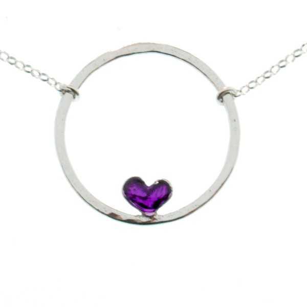 Rotes Herz Halskette aus Sterling Silber Desiree Schmidt Paris Valentine 47,00€