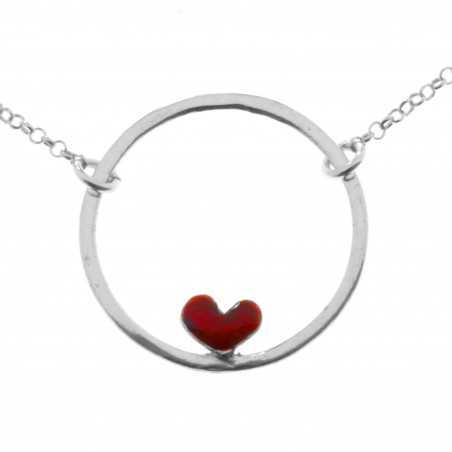 Valentine reversible necklace. Sterling silver. Desiree Schmidt Paris Valentine 47,00€