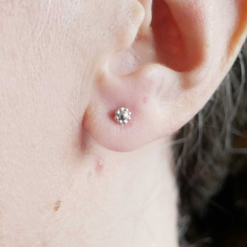 Boucles d'oreilles pendantes en bronze vieilli Basic