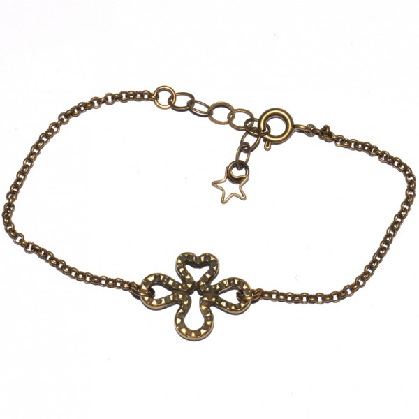 Basic small aged bronze ajustable bracelet  Basic 19,00 €