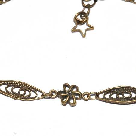 Petit bracelet Basic en bronze vieilli Basic 19,00€