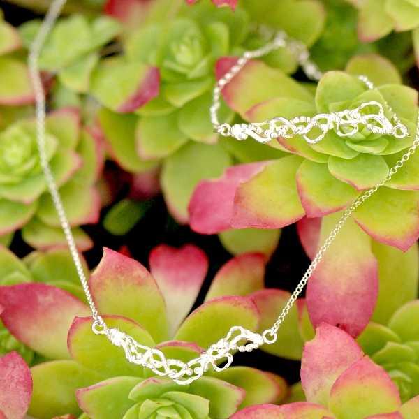 Volubilis ajustable bracelet. Sterling silver.  Volubilis 65,00€