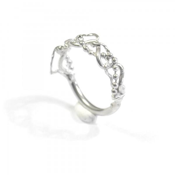 Morning Glories sterling silver ring  Volubilis 67,00€