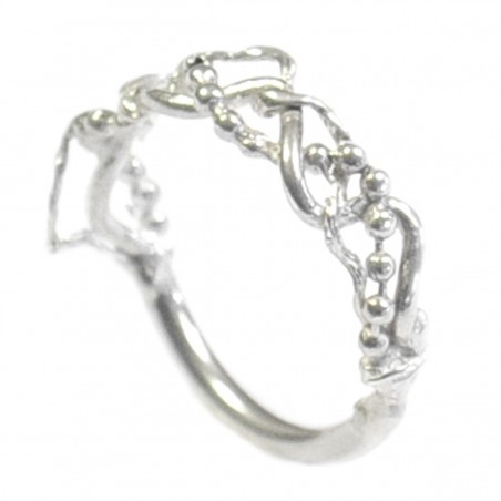 Morning Glories sterling silver ring Volubilis 65,00 €