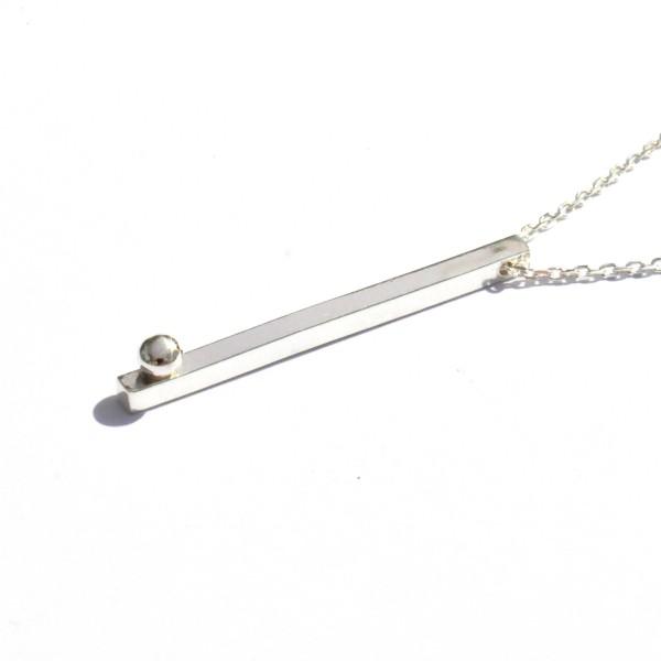 Collier en argent massif 925/1000 Perle de Pluie Desiree Schmidt Paris Perle de Pluie 67,00€