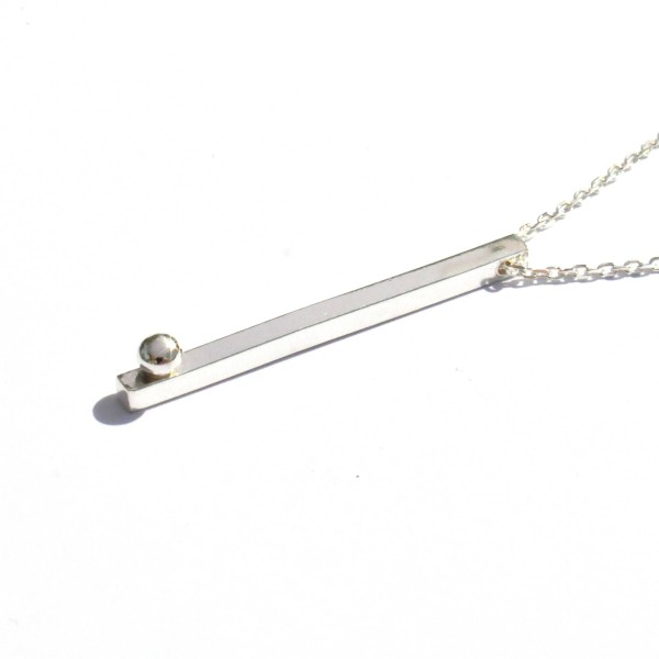 Rain Drop sterling silver adjustable necklace  Rain drop 67,00 €