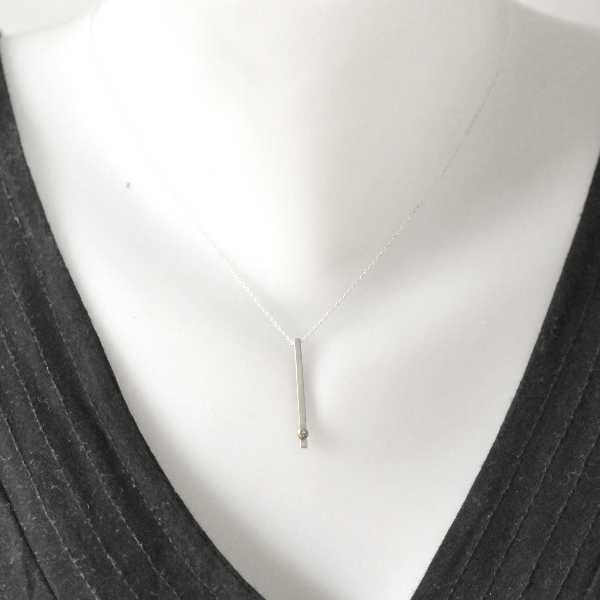 Rain Drop sterling silver adjustable necklace  Rain drop 67,00€