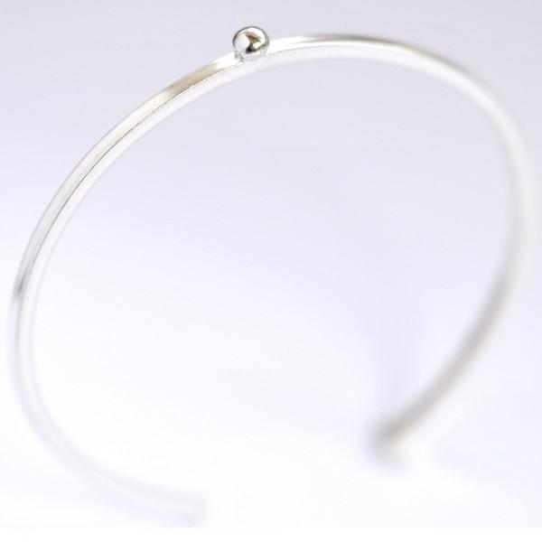 Bracelet jonc en argent 925/1000 Perle de Pluie Desiree Schmidt Paris Perle de Pluie 77,00€