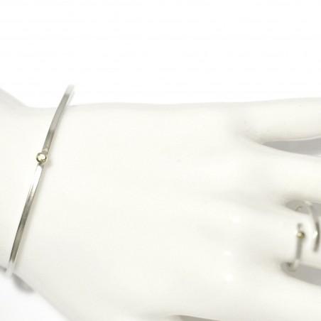 Bracelet jonc en argent 925/1000 Perle de Pluie  Perle de Pluie 77,00€