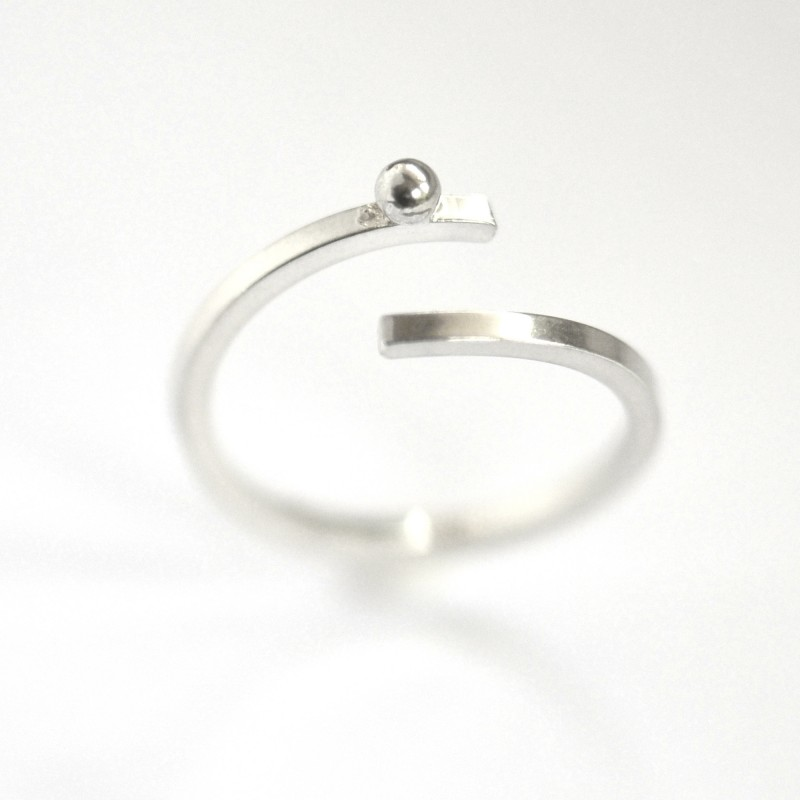 Rain Drop sterling silver adjustable Ring  Rain drop 57,00 €