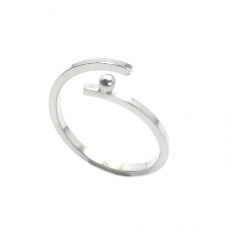 Bague réglable Perle de Pluie en argent massif  Perle de Pluie 57,00€