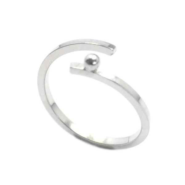 Rain Drop sterling silver adjustable Ring Rain drop 57,00€