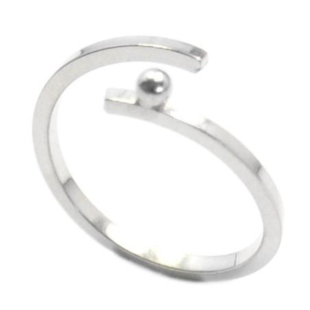 Regentropfen Sterling Silver verstellbares Ring  Regentropfen 57,00€