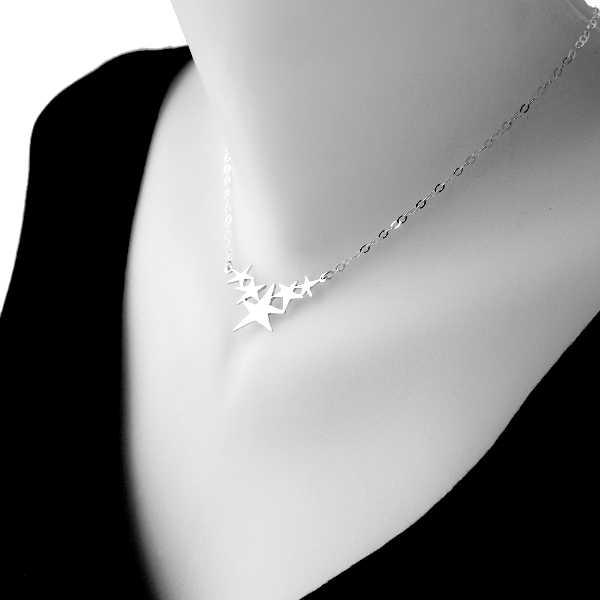 Sati star necklace. Fine golded bronze. Sati 67,00€